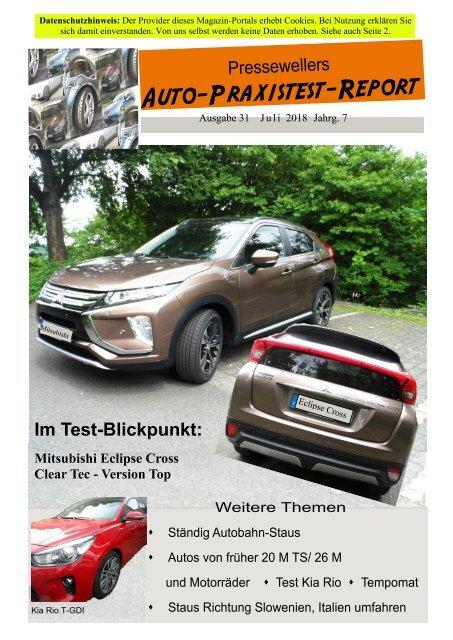 Auto-Praxistest-Report 31 von Presseweller