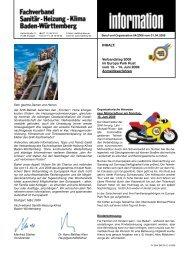 14. Juni 2008 - Fachverband Sanitär Heizung Klima Baden ...