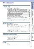 Sony DPF-W700 - DPF-W700 Consignes d'utilisation Néerlandais - Page 3