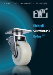 Edelstahl SCHWERLAST Rollen - FW Seuthe GmbH & Co. KG