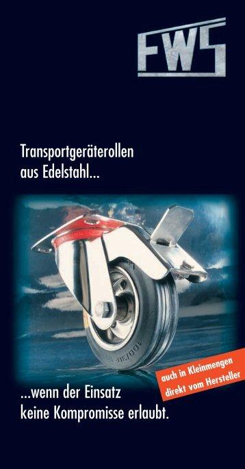 Transportgeräterollen - FW Seuthe GmbH & Co. KG