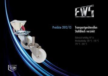 Transportgeräterollen Stahlblech verzinkt - FW Seuthe GmbH & Co ...