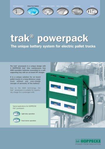 trak® powerpack trak® powerpack - Hoppecke