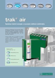 Systémy trakční energie s nuceným oběhem elektrolytu