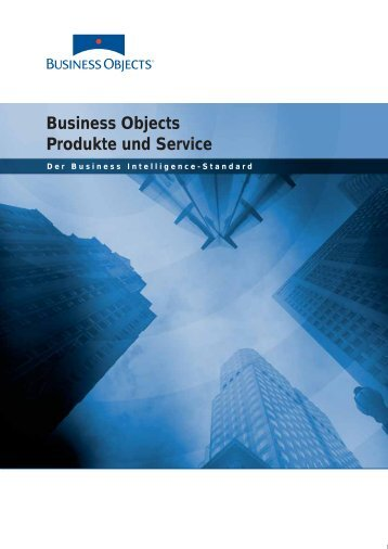 Business Objects - Gadola Information Systems GmbH