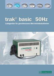 trak® basic 50Hz trak® basic 50Hz - HOPPECKE Batterien