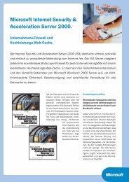 Microsoft Internet Security & Acceleration Server 2000.
