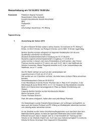 Ressortsitzung (Protokoll) - Landes-Kanu-Verband Berlin