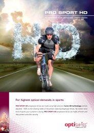 PRO SPORT HD - Optiswiss AG