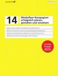 Werbeflyer-Kampagnen erfolgreich planen, gestalten ... - direktplus.de