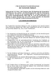 Friedhofsordnung - .PDF - Alpbach