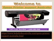 How to Resolve Driver Installation Search Out Epson Printer Support Number Australia