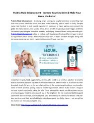 Praltrix Male Enhancement - Boost Your Performance Naturally!
