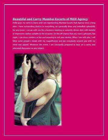 Beautiful and Curvy Mumbai Escorts of MEH Agency