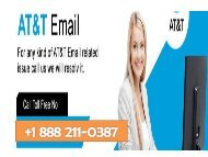Call +1 (888) 211 0387  AT&T Email support phone number for Email related issues USA
