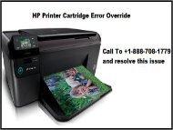 hp printer cartridge error override