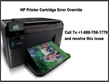 hp printer cartridge error override