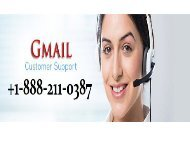 call +1-888-211-0387 gmail customer support service to fix gmail related issues usa