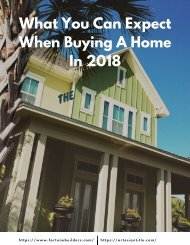 What You Can Expect When Buying A Home In 2018
