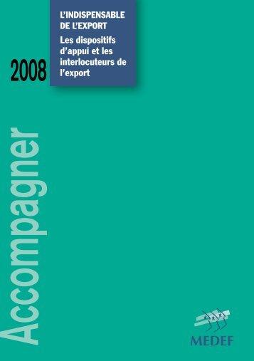 'Indispensable de l'export - Nos publications - Medef