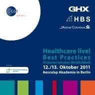 Healthcare live! - Paul Gerhardt Diakonie
