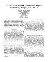 Towards Model-Based Communication Protocol Performability ...
