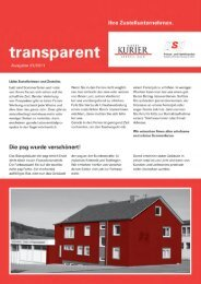 transparent - psg Presse