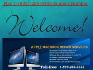 Dial (1-833-283-8333) MAC Phone Number