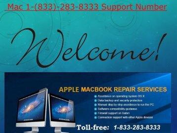 Dial (1-833-283-8333) MAC Phone Number