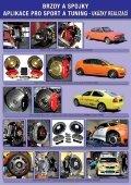 brzdy a spojky aplikace pro sport a tuning - ukázky ... - RENOVAK - Page 2