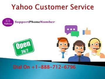 yahoo Customer Service +1-888-712-6796