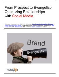 From Prospect to Evangelist- Optimizing Relationships ... - Prisa Digital