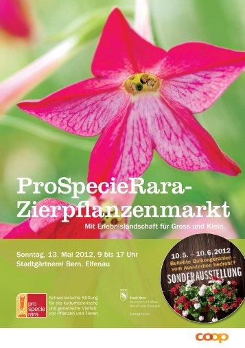 ProSpecieRara- Zierpflanzenmarkt