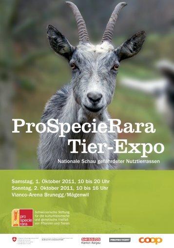 ProSpecieRara Tier-Expo