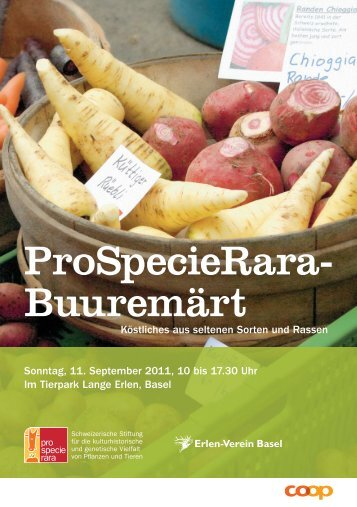ProSpecieRara- Buuremärt