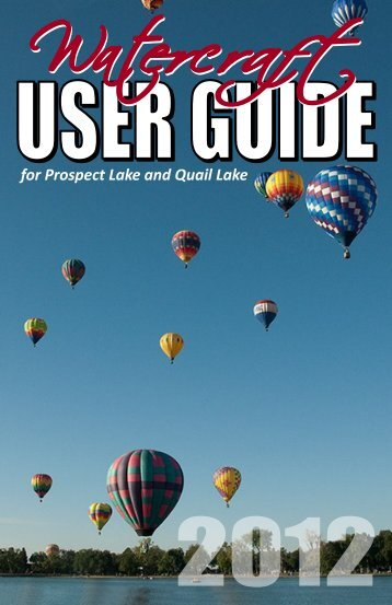 for Prospect Lake and Quail Lake - City of Colorado Springs