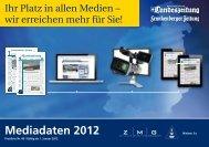 Mediadaten 2012 - Die-Zeitungen.de