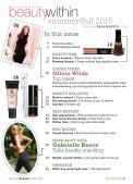 Discover Beauty Within Summer / Fall 2015 - Page 3