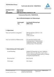 TÜV Rheinland Group Technischer Bericht Nr. 72SG0705-02 ...  - H&R