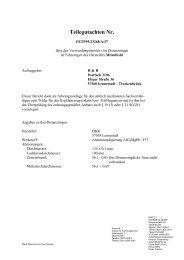 Teilegutachten Nr. - H&R