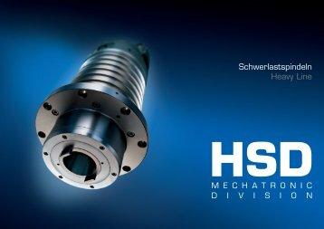 Schwerlastspindeln Heavy Line - HSD
