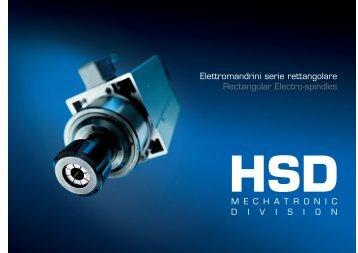 Elettromandrini Rettangolari - HSD