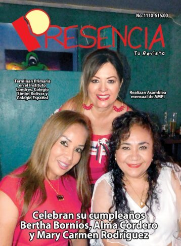 Revista Presencia Acapulco 1110