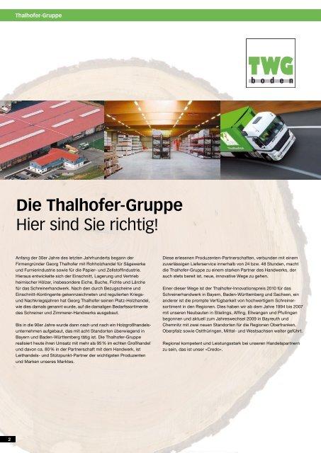 Das MEISTER-Lagerprogramm der Thalhofer-Gruppe
