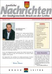 Amtliche Nachrichten - Folge 280 (2,15 MB) - Stadtgemeinde Bruck ...