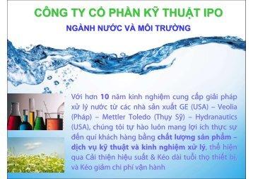 Gioi thieu Nganh Nuoc & Moi truong - IPO_rev1