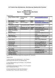 Protokoll vom 26.09.2012 - Bad Endorf
