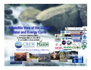 A Satellite View of the Global Water and Energy Cycle - Houser