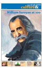 William Saroyan at 100 - Armenian Reporter