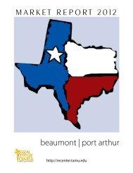 Beaumont-Port Arthur - Real Estate Center - Texas A&M University
